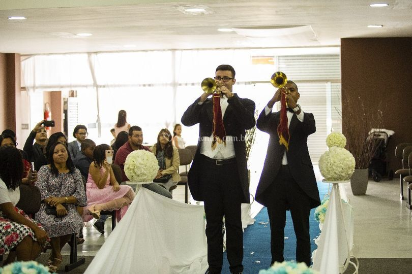 Trompetes-Entrada da Noiva