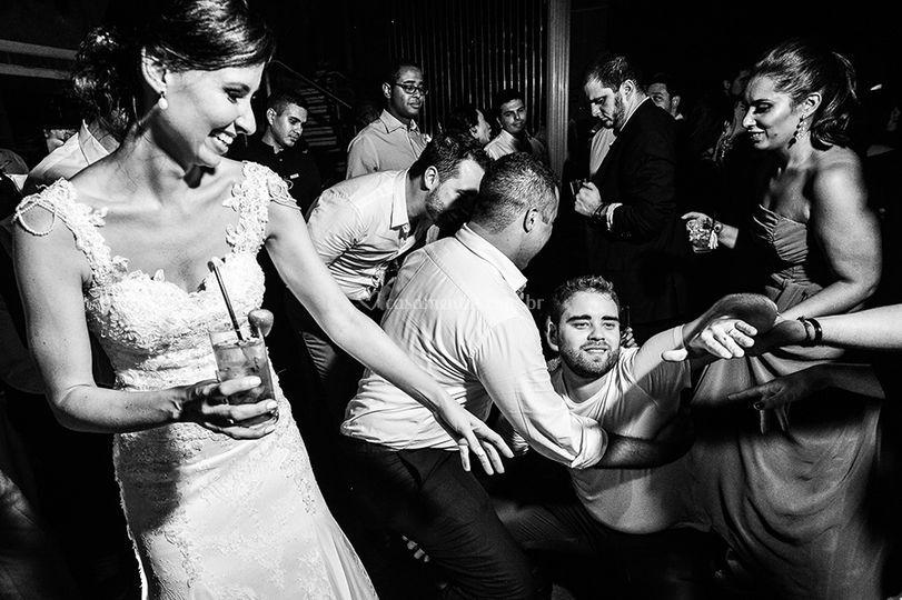 Fotos engrasadas de casamento