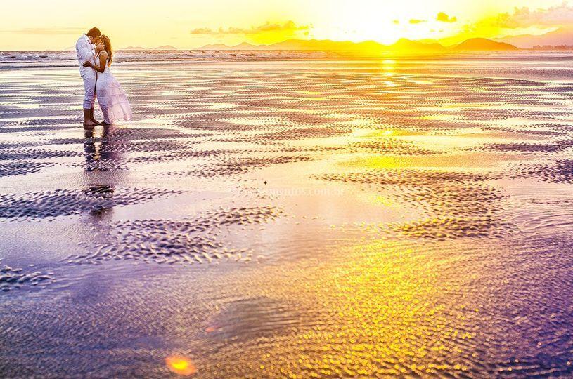 Ensaio na praia