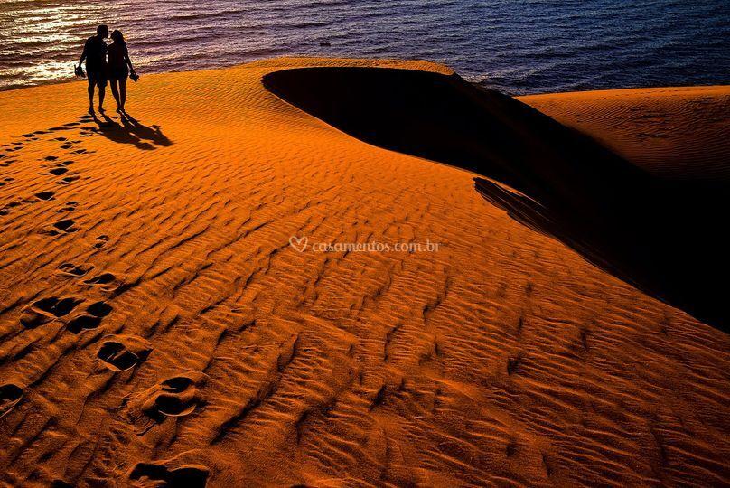 Ensaio nas dunas