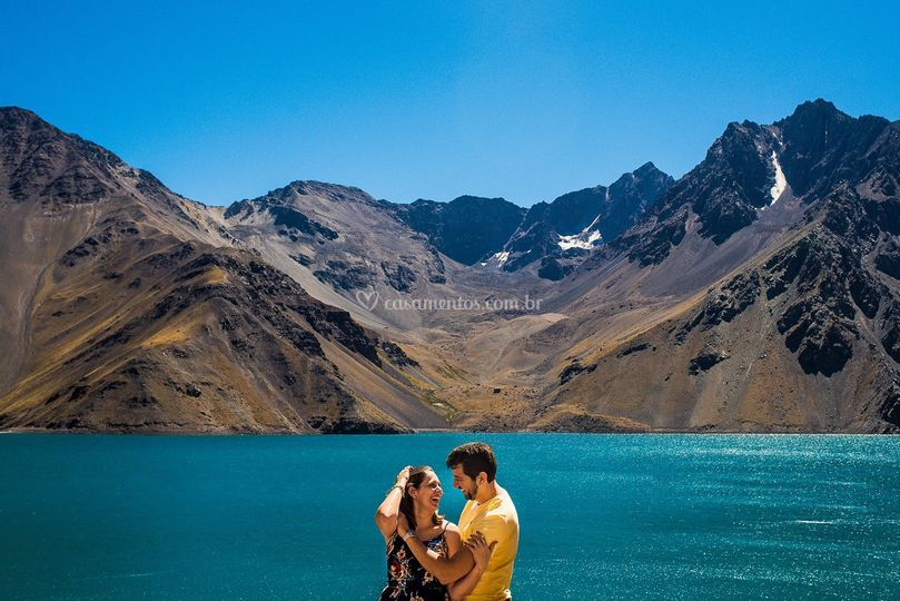 Ensaio na patagonia