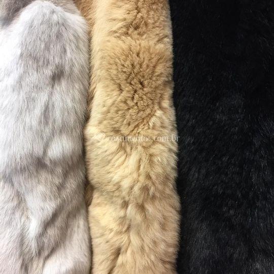Casacos de pele