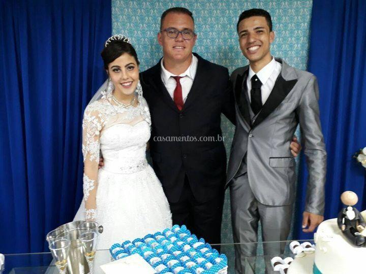 Celebração Nayara e Luciano