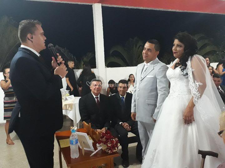 Celebração Cássio e Elizangela