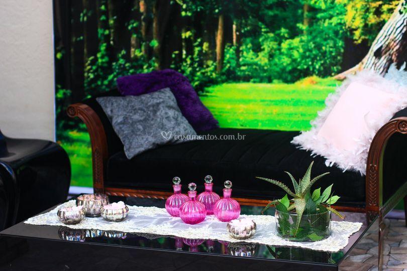 Lounge no jardim!