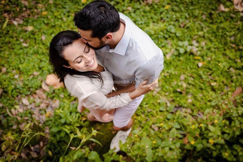 Felicidade da noiva
