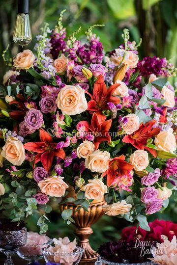 Mix de flores nobres