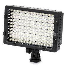 Luz  filmadoras