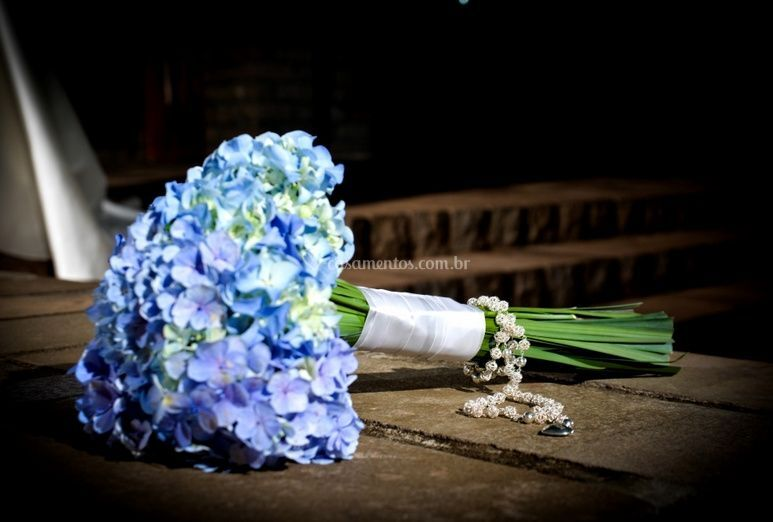 O bouquet de noiva