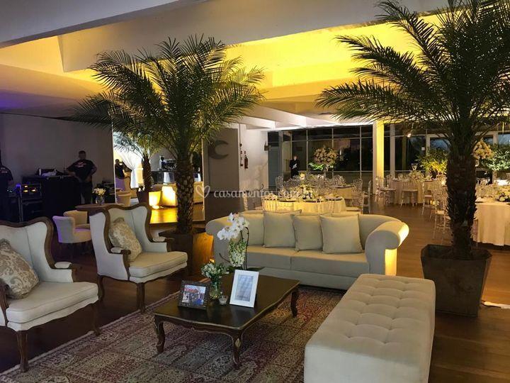 Lounge aconchegante!