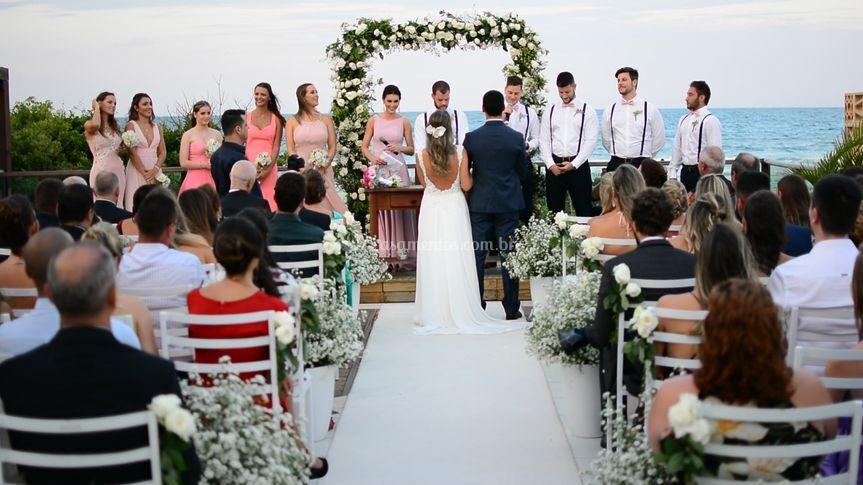 Casamento - praia dos Inglêses