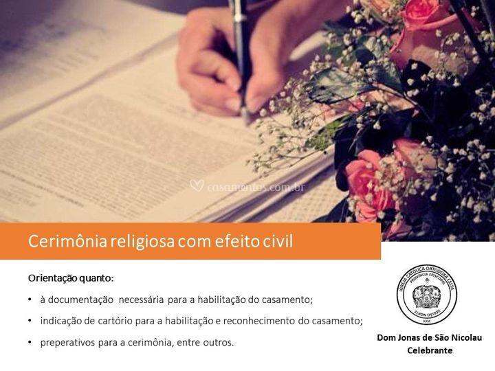 Cerimônia religiosa-civil