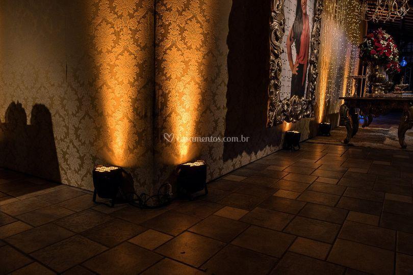 Iluminação para Festa