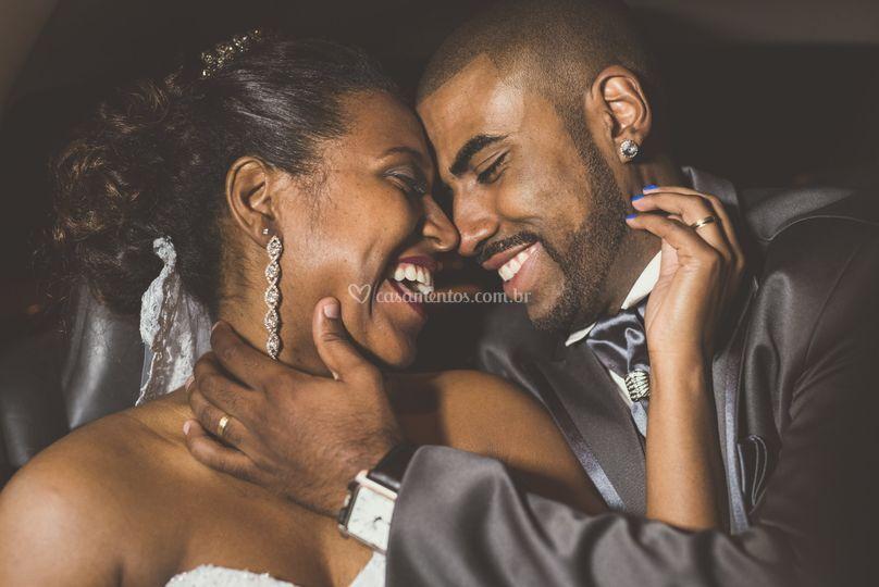 Momento dos noivos