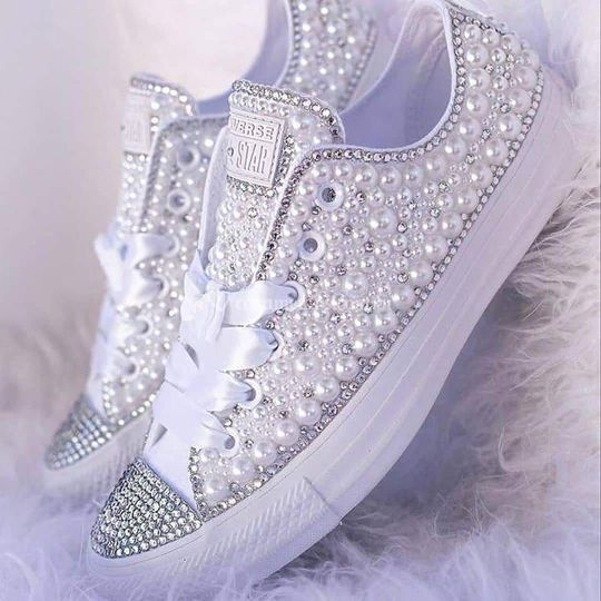 All star monochrome branco