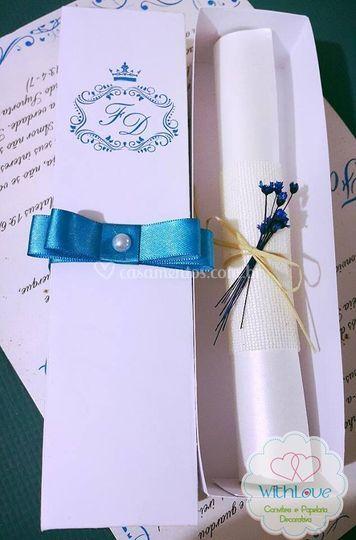 Convite Elegante Caixa 02