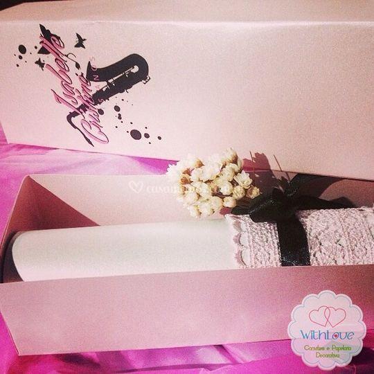 Convite elegante caixa 03