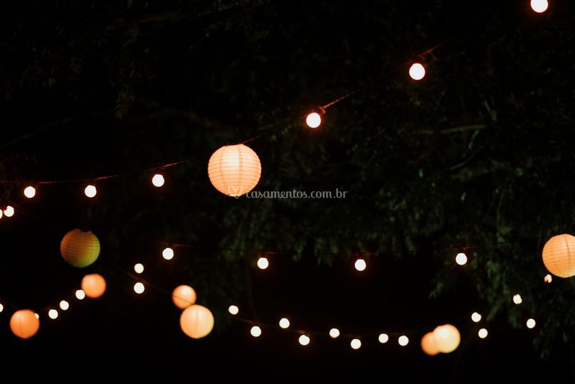 Varal de luzes