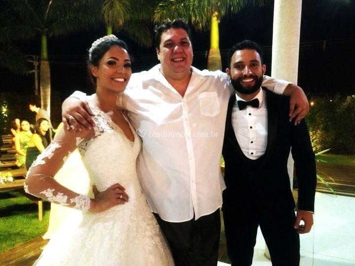 Os Noivos Juliana e Bruno