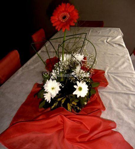 Arranjo floral de mesa