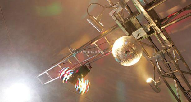 Luzes para eventos