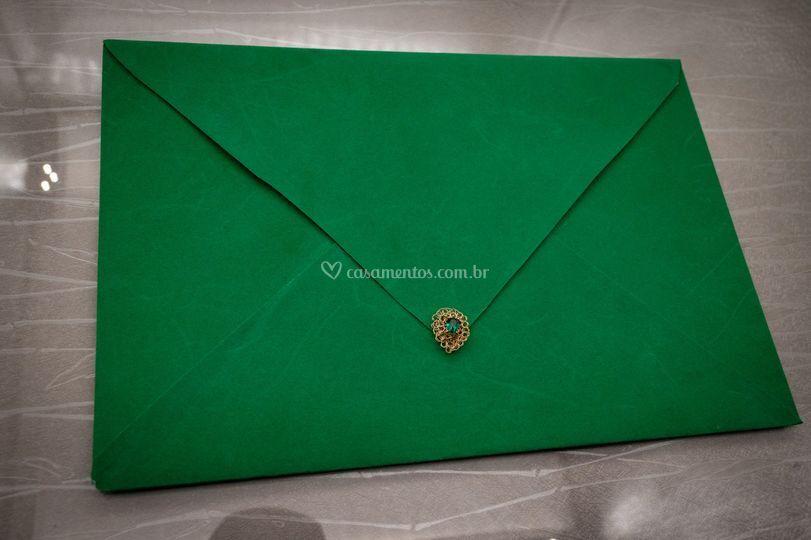 Envelope Aveludado