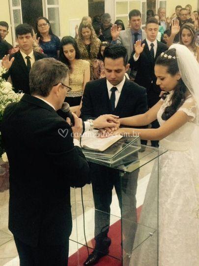 Casamento larissa