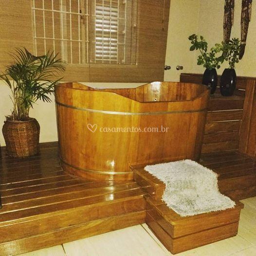 Sala de banho Ofuro