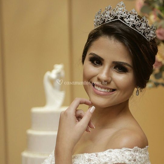 Noiva real: Geysa