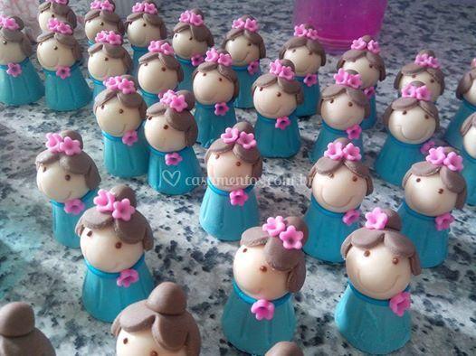 Debutantes em chocolates 5