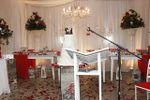 Vermelho e branco de Casa de Festa Espa�o Rosa