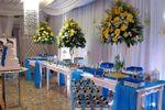 Festa azul e branco de Casa de Festa Espa�o Rosa