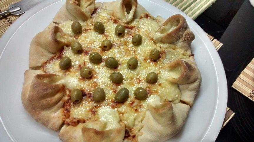 "Pizza ""Vulcano"""