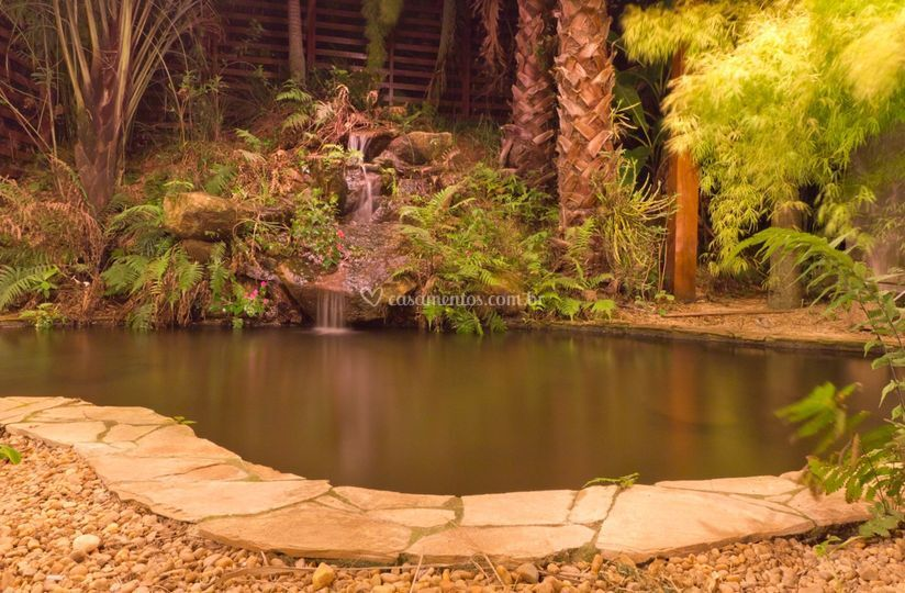 Salão da cachoeira