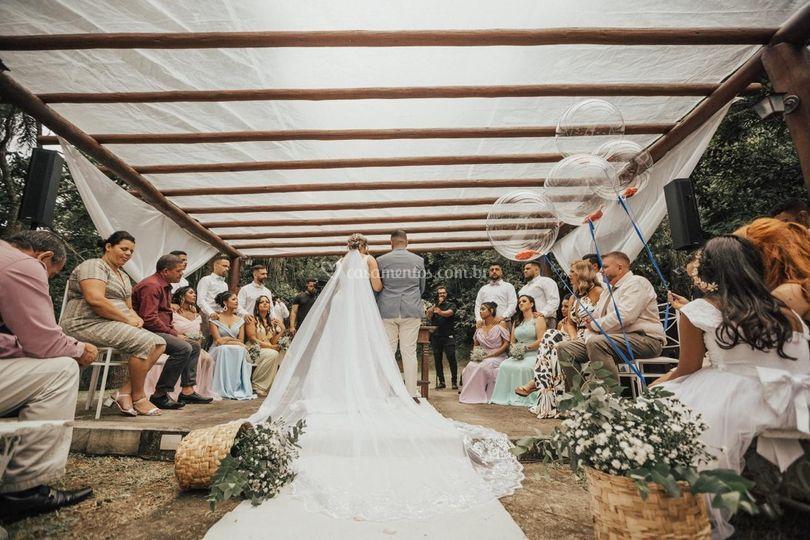 Espaço Fazenda - Cerimonia