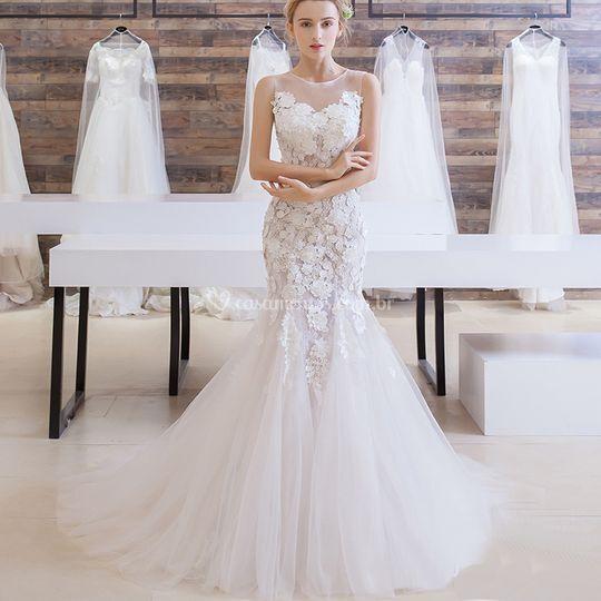 Vestido de Noiva Sexy