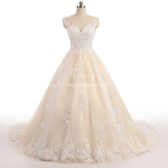 Vestido de Noiva Árabe