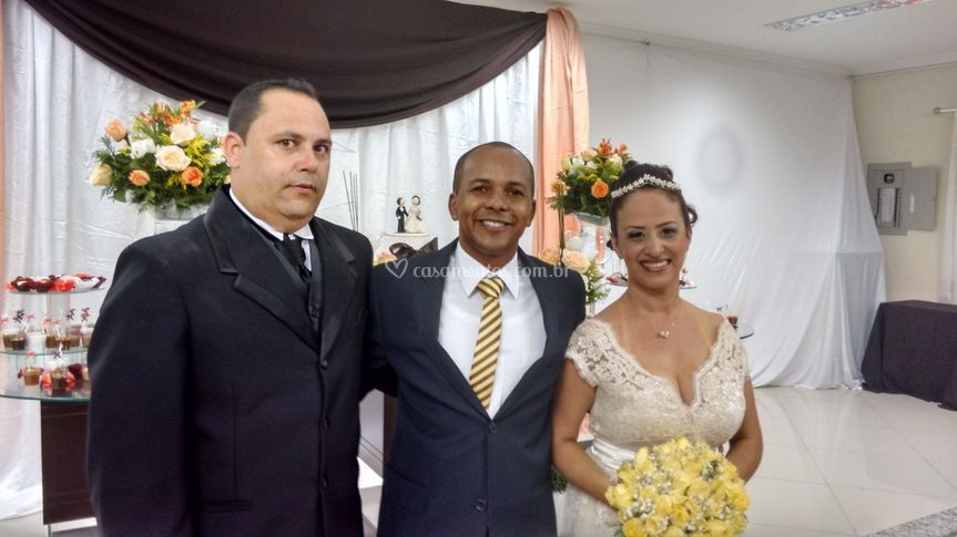 Casamento Ronaldo e Gislene.