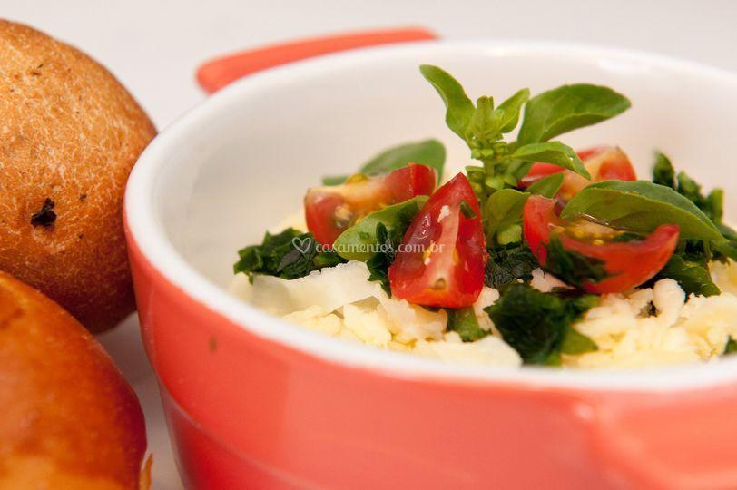 Canapés - mini risoto