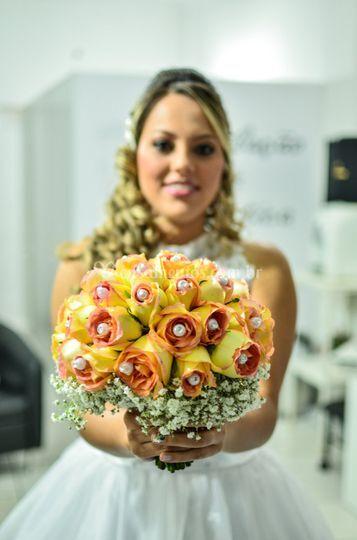 Uma noiva muito bela