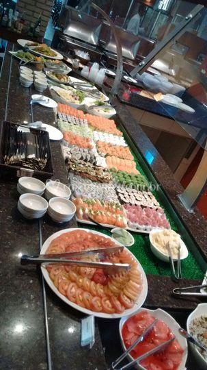 Buffet de sushis