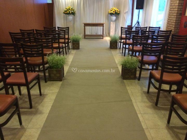 Ambiente para cerimonia