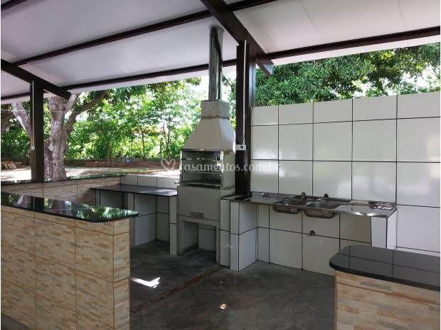 Cozinha do salão