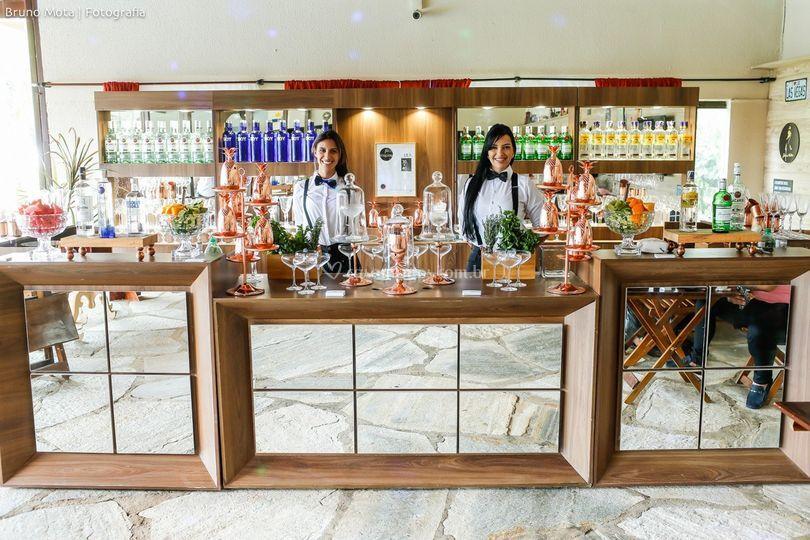 Tenha um bar na sua festa