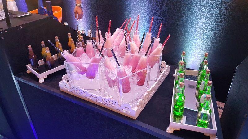 SENSAÇÃO: Ilha de Shot Drinks