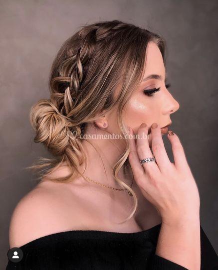 Penteado e Make noiva