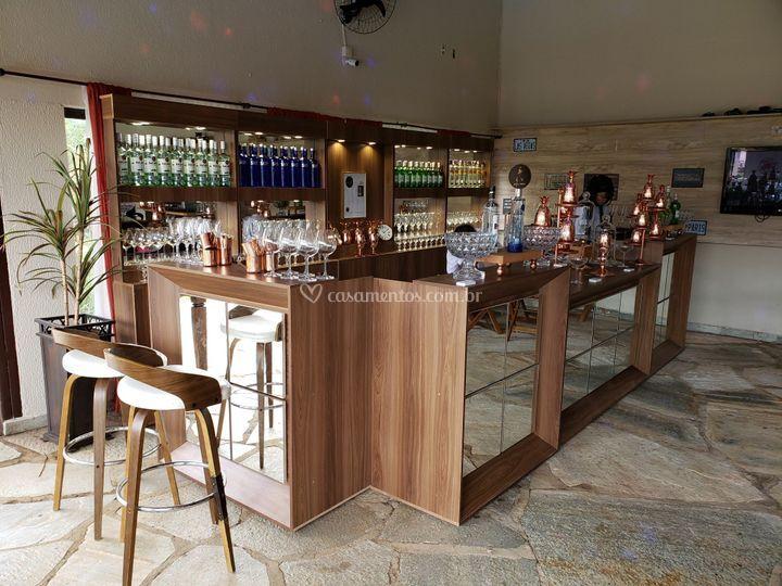 Estrutura de Lounge Bar