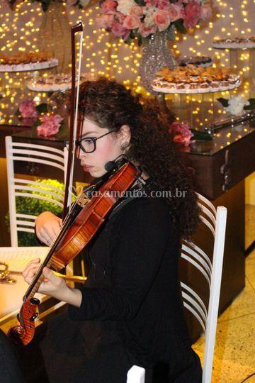 Carol no Violino