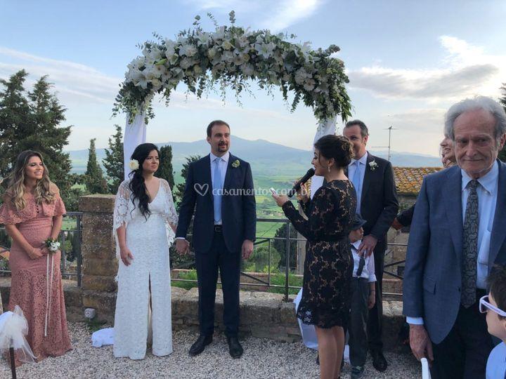 Cerimônia Itália