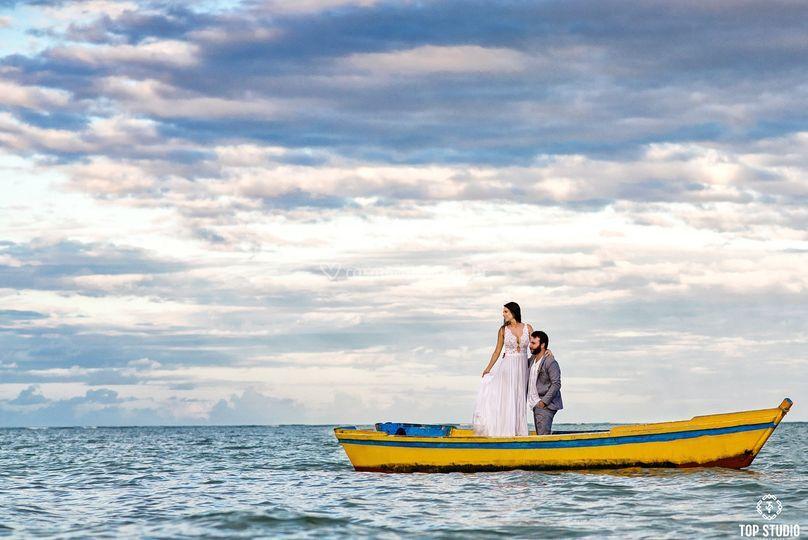 Fotografo casamento praia